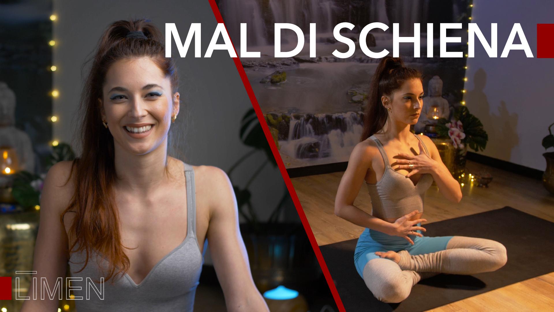 Mal di schiena alto e basso: stop al dolore con lo yoga